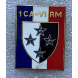 1er Corps d'Armée - VIe Région Militaire