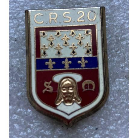 CRS 20 LIMOGES  (Compagnie Républicaine de Sécurité)