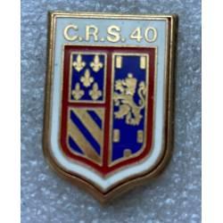 CRS 40 DIJON  (Compagnie Républicaine de Sécurité)