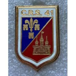 CRS 41 TOURS  (Compagnie Républicaine de Sécurité)