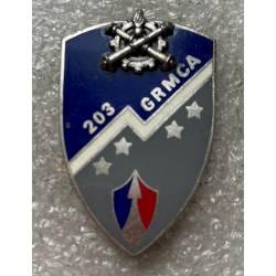 203e Groupe de Réparation du Matériel de Corps d'Armée (GRMCA)