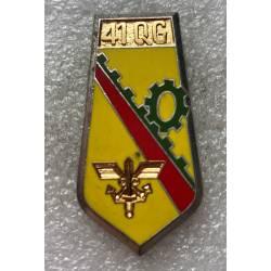 41e Groupe d'Escadron de Quartier Général (vert foncé)