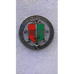 2e Corps d'Armée RHONE RHIN NECKAR émail