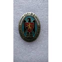 117e Régiment d'Infanterie émail