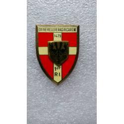 1er Régiment d'Infanterie résine