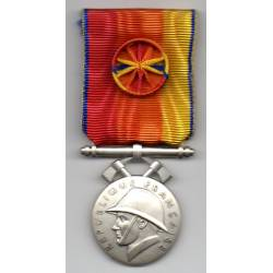Médaille d'Honneur des Sapeurs Pompiers Services Exceptionnels argenté