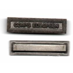 Agrafe CORPS EUROPEEN