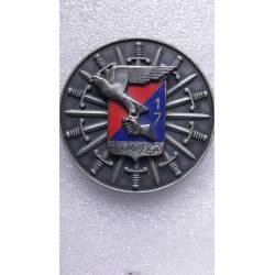 Médaille de table du 17e RA