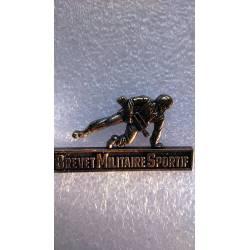Brevet Militaire Sportif échelon bronze
