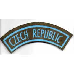TCHECOSLOVAQUIE : CZECH REPUBLIC titre d'épaule