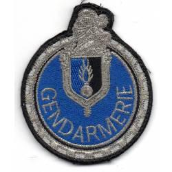 Motocycliste de la Gendarmerie