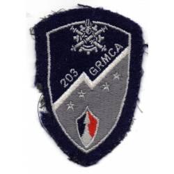 203e Groupe de Réparation de Matérie de Corps d'Armée