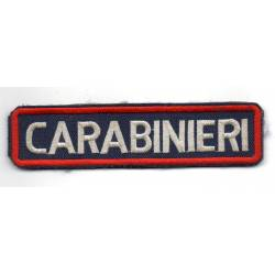 ITALIE : Carabinieri