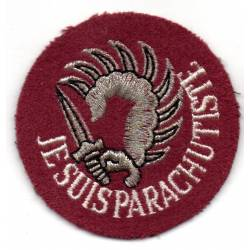Je suis parachutiste
