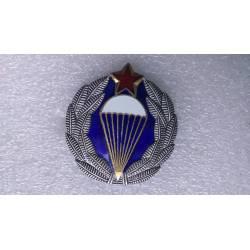 YOUGOSLAVIE : Insigne de béret d'officier parachutiste