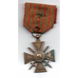 Croix de Guerre 1914-1917 avec étoile bronze