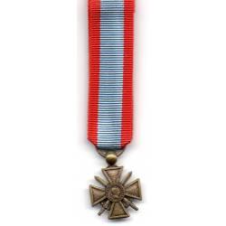 Croix de Guerre des Théâtres d'Opérations Extérieurs réduction