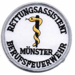 Assistant sauveteur des sapeurs professionnels  MUNSTER