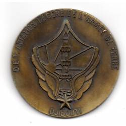 Médaille de table de l'ALAT DJIBOUT
