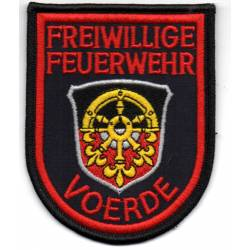Allemagne : Sapeurs Pompiers volontaires de VOERDE