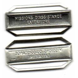 Agrafe MISSION ASSISTANCE EXTERIEURE