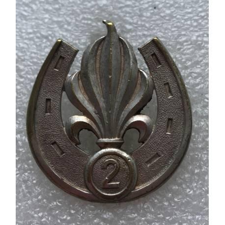 2e Régiment Etranger d'Infanterie insigne de béret Algèrie