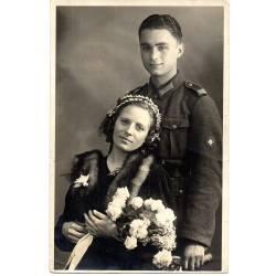Photo 1943 jeune soldat allemand du 102e
