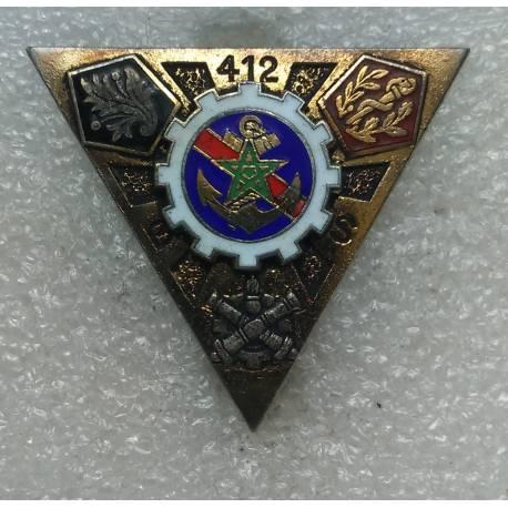 412e Bataillon des Services