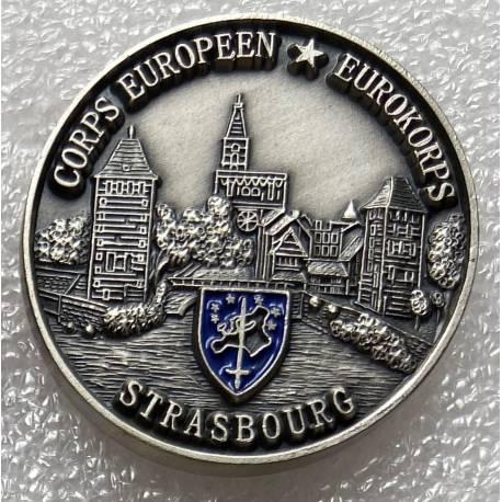 Coin Corps Européen - Eurokorps STRASBOURG