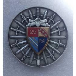 Médaille de table 25e Régiment d'Artillerie