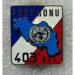 403e Bataillon de Soutien Logistique FORPRONU 1er mandat