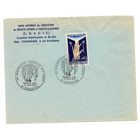 1er jour UNADIF 27/06/1970