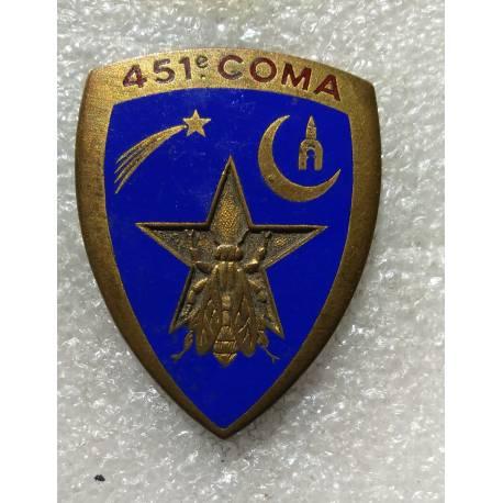 451e Compagnie d'Ouvriers Militaires d'Administration (COMA)
