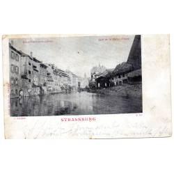 Carte postale Strasbourg Quai de la Petite France