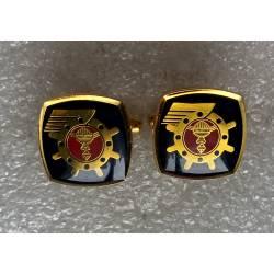 République Coréenne : boutons de manches de chemise de la 2nd Fleet ROK Navy