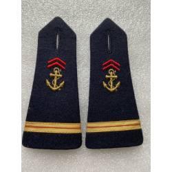 epaulettes d'Adjudant Chef de l'Infanterie de Marine