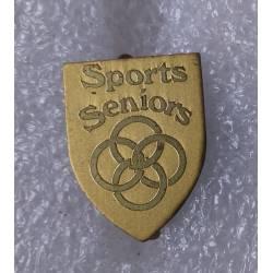 insigne de boutonnière Sports Séniors