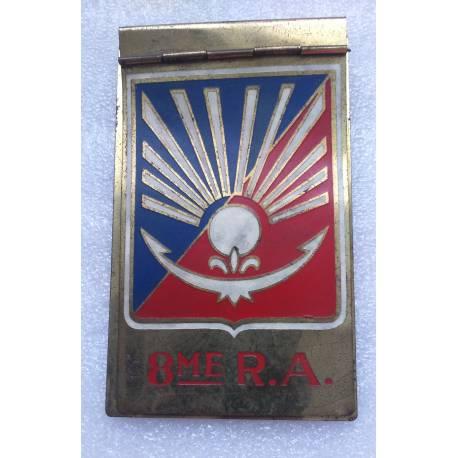 8e Régiment d'Artillerie Porte cigarettes