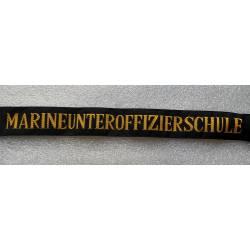 Allemagne : bande de bachi marine actuelle MARINENUNTEROFFIZIERSCHULE