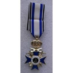 Ordre du Mérite Militaire bavarois avec épée 3e classe reproduction