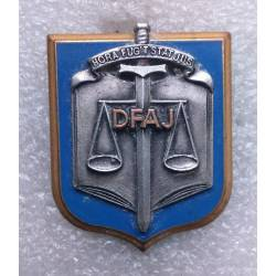 Direction de la Fonction Militaire et Affaires Juridiques (DFAJ)