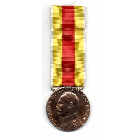 Bavière : Médaille de Sauvetage du Grand Duc FREDERIC II