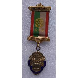 ANGLETERRE : ROYAL ANTEDILUVIAN ORDER of BUFFALOES Secretary