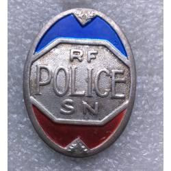 Police Sureté Nationale écu peint