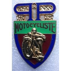 Préfecture de Police de PARIS motocycliste