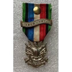 Vétérans des armées de Terre et Mer de 1870-1871 avec agrafe 1870-1871