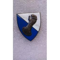 6e Division Blindée émail grand modèle