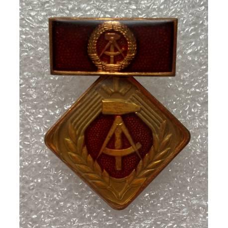 RDA : Médaille du Travail 1969 - Aktivist der sozialistische Arbeit