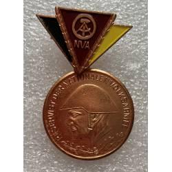RDA : Médaille des Réservistes de l'armée populaire - Reservist des Nationale Volksarmee