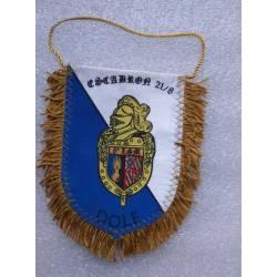 Fanion de l'Escadron de Gendarmerie Mobile 21/8 de la 8e Légion de Gendarmerie Mobile